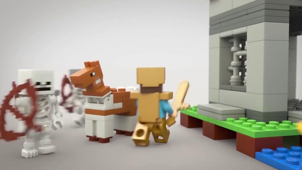 video LEGO Minecraft Het Fort – 21127