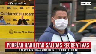 Cuarentena | Las Nuevas Actividades Exceptuadas En Caba Desde El 11 De Mayo