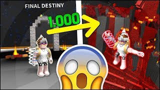 I PLAYED the LAST SECRET PHASE OF 1000 ROBUX of SPEED RUN 4 on ROBLOX! 😨 (Macabre)