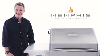 Memphis Pro Wood Fired Pellet Grill Overview  BBQGuyscom