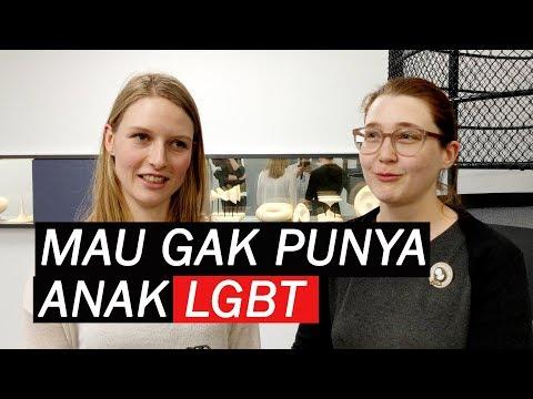 Tanggapan Bule Seandainya Punya Anak LGBT | Q&A (Deutsche Untertitel)