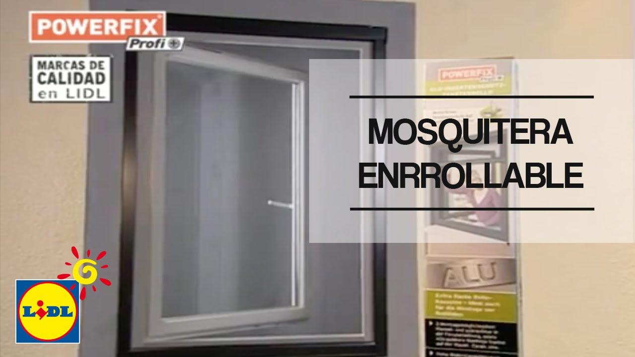 Mosquitera Enrollable De Aluminio Para Ventana Lidl