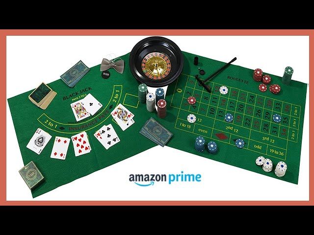 ¡ 3 productos de Casino disponibles en Amazon 2020! Ruleta, póker y blackjack 🆕