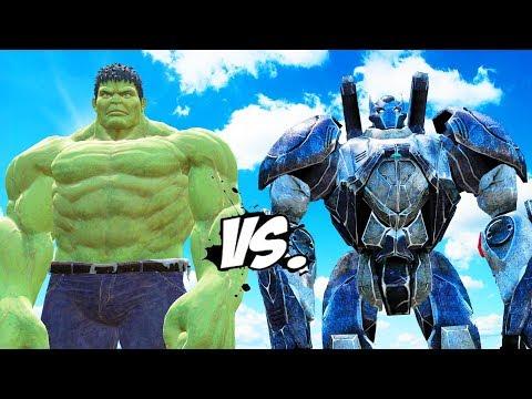 HULK vs BATMAN (Mech Suit) - Epic Battle thumbnail
