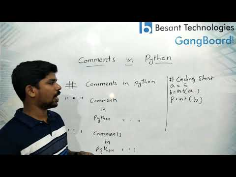 Python Comments | Python Tutorial For Beginners thumbnail