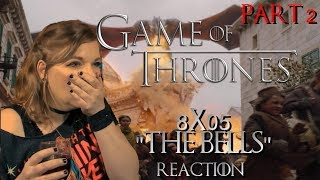 """Game Of Thrones 8x05 """"The Bells"""" Reaction Pt2"""