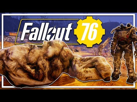 POWER ARMOR vs GRAFTON MONSTER - POWER FIST LOOT! (Fallout 76 Beta Gameplay Xbox One X)