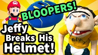 SML Bloopers: Jeffy Breaks His Helmet