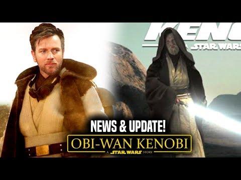 Obi Wan Kenobi Movie Big News! & Update (Star Wars News)