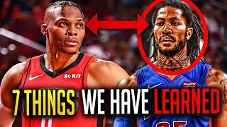 7 Things We Have Learned From The NBA Season SO FAR... NBA 2019-20 Opening Week Highlights!