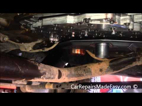 Dodge Durango Transmission fluid and filter change procedure