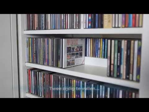 Cd Ladekast Ikea.Apothekerskasten Voor Cd En Dvd Youtube