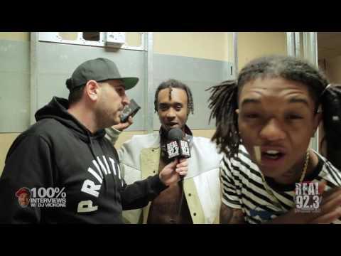 100% INTERVIEWS W/ DJ VICK ONE AND RAE SREMMURD!!!!!