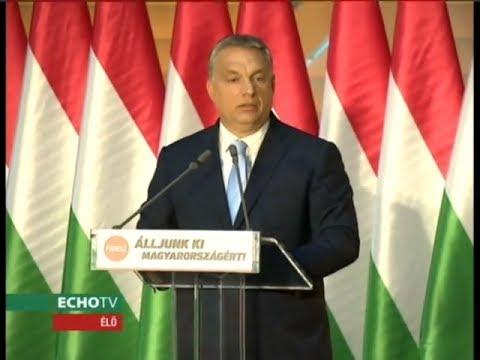 """""""Álljunk ki Magyarországért!"""" - Echo Tv"""