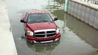 The Dodge that could not swim...