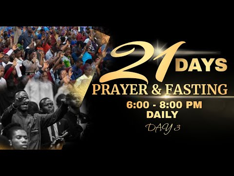 DOMI STREAM : DAY 3 | ANNUAL PRAYER & FASTING  | 6, JANUARY 2021 | FAITH TABERNACLE OTA