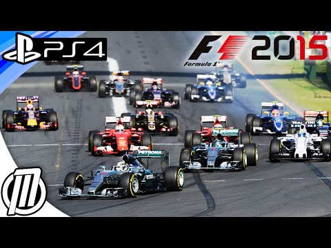 F1 2015 PS4 Gameplay - Next Gen Formula 1 Game - Live Stream