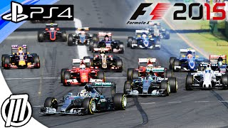 F1 2015 PS4 Gameplay - Next Gen Formula 1 Game - Live Stream