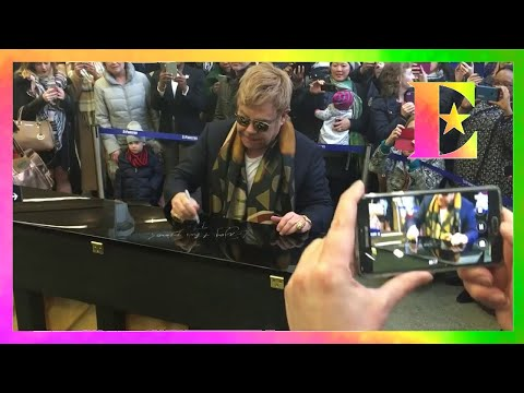 Elton John - Surprise London Performance
