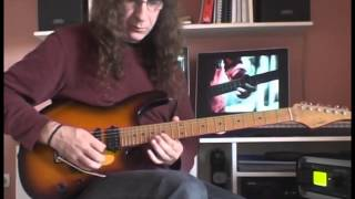 Gary Moore - The Loner  Guitar cover by Antonis Vogiatzoglou
