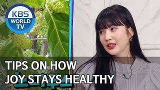Tips on how Joy stays healthy [Happy Together/2020.01.23]