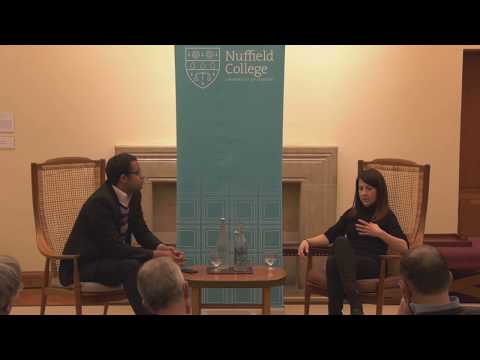 'The Future of the Left' Nuffield College, Oxford 08/02/2018. Guest speaker Liz Kendall