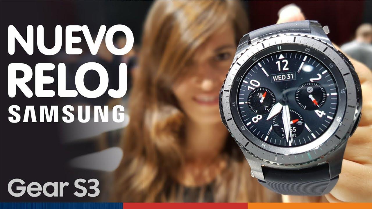 Reloj S3 Nuevo SamsungGear Inteligente De OXNP80knw