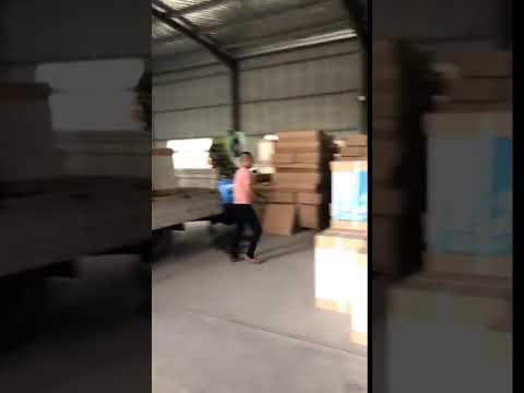 Medical Furniture Hospital Bedside Table Loading and Shipping