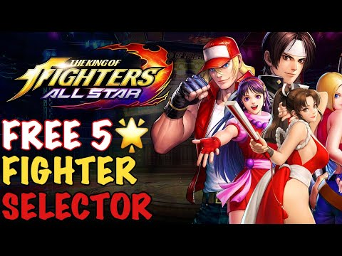 TOP TEN PICKS 🤔 FREE FIGHTER SELECTOR!! - King of Fighters ALL STAR - 동영상