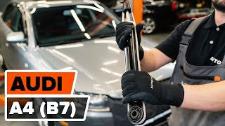 Installation Federbeinlager vorderachse und hinterachse AUDI A4: Video-Handbuch