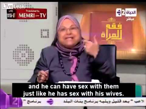 Female Islamic Cleric Teaches That '  Enslaving and Raping Little Girls is Permissible in Islam  '