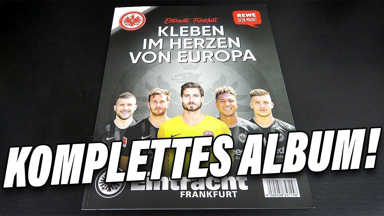 Komplettes Album Alle Sticker Eintracht Frankfurt Sticker 2019