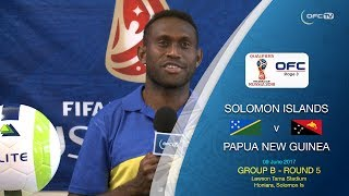 Solomon Islands and Papua New Guinea set for clash.