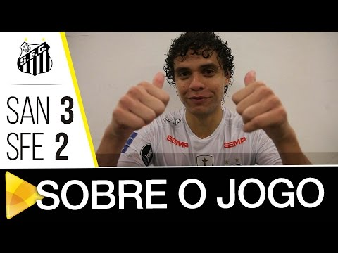 Thiago Maia e Victor Ferraz analisam vitória sobre o Santa Fé