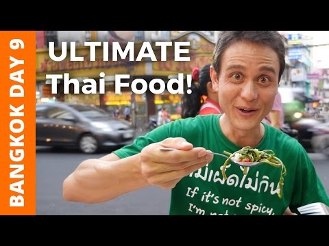 Thai Street Food: The ULTIMATE Chinatown Bangkok Tour เยาวราช  Bangkok Day 9