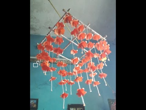 How to make wind chimes using paper