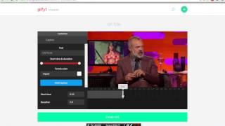 как  сделать Gif Анимацию без программ с любого видео на youtube(в этом видео вы увидите как быстро сделать Gif Анимацию без программ с любого видео на youtube., 2015-07-23T19:19:17.000Z)