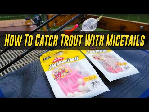 How To Catch Trout With Powerbait Mice Tails (EASY & EFFECTIVE!!)