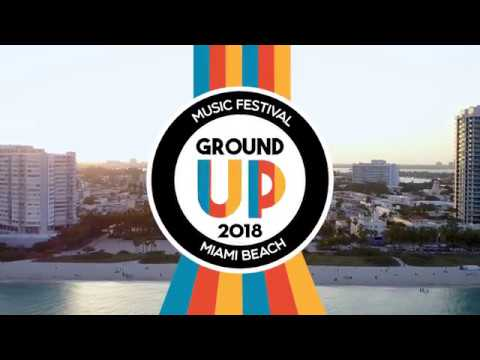 GroundUp Music Festival 2018 Lineup