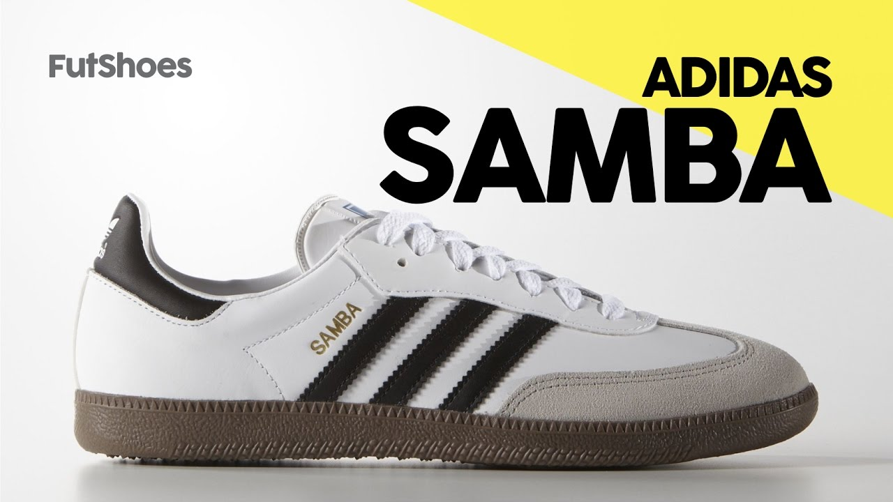 Adidas Samba - Unboxing + On feet - FutShoes - YouTube cad23baa3