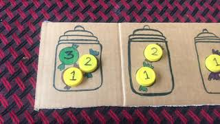 Diy Activities For Teaching Number Counting & Number Recognition To 2-3 Year Old At Home