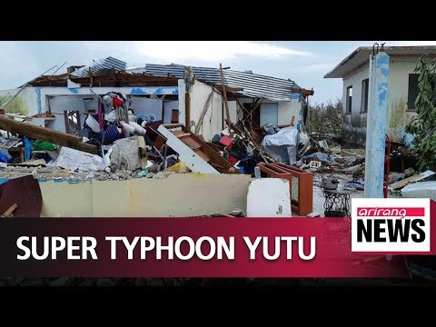 Rescue operations underway in Northern Mariana Islands after Super Typhoon Yutu