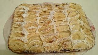 Яблочный пирог с яблоками Секрет и рецепт тесто для пирога на вкусный десерт праздничный стол к чаю(Яблочный пирог рецепт яблочного пирога на десерт - это вкусное блюда для праздничного стола на день рождени..., 2015-10-15T07:13:25.000Z)