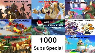 1000 Subs Special - A Montage Collab (Super Smash Bros. Ultimate)