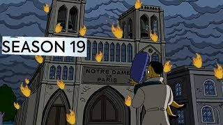 Simpsons Predict Notre Dame burning fire Conspiracy