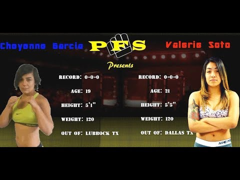 Cheyenne vs. Valerie - (2017.06.17) - [Amateur Fight] - /r/WMMA