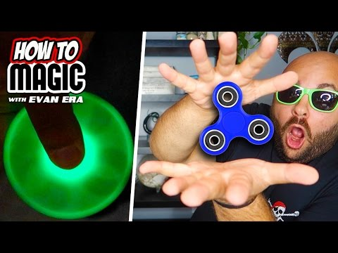 Thumbnail: 6 Fidget Spinner Magic Tricks!