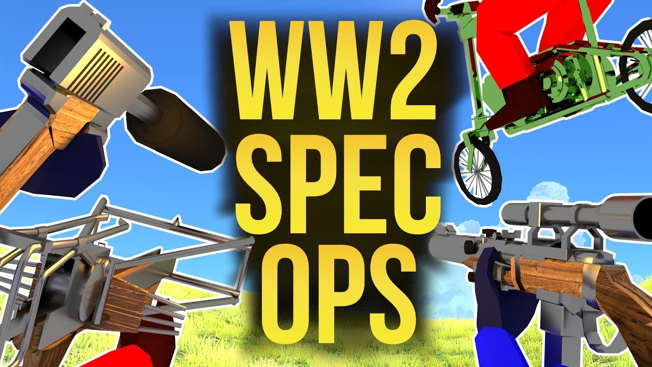 WW2 SPEC OPS RAVENFIELD WEAPONS & VEHICLE World War 2 Mod