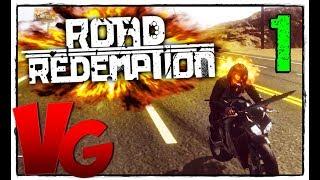 road Redemption 2017  прохождение 60Fps Ultra #2 - Главарь Сигмы!