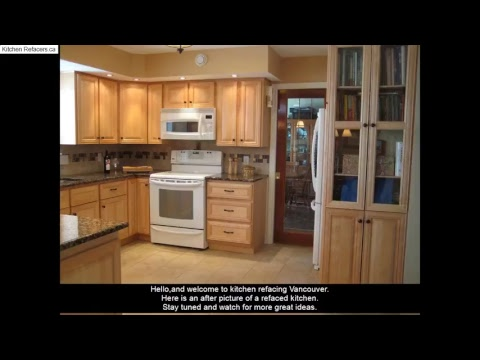 kitchen cabinet refacing vancouver kitchen cabinet refinishng rh youtube com